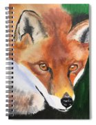 Wily Fox Spiral Notebook