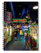 Win Prizes....maybe...maybe Not Spiral Notebook