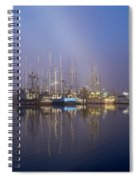 Winchester Bay Fishing Boats Spiral Notebook