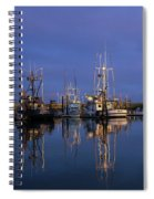 Winchester Bay Reflections Spiral Notebook