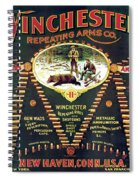 Winchester Double W Cartridge Board Spiral Notebook