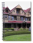 Winchester Mystery House Spiral Notebook