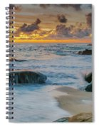 Wind And Sea Spiral Notebook