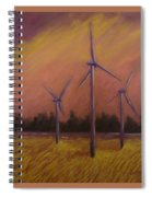 Wind And Wheat Spiral Notebook