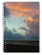 Wind Beneath My Wings Spiral Notebook