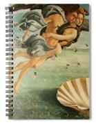 Wind God Zephyr Spiral Notebook