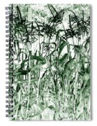 Wind In The Corn Spiral Notebook