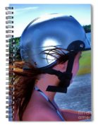 Wind In The Hair Spiral Notebook