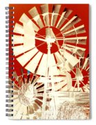Wind In The Willows Spiral Notebook