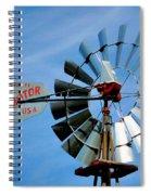 Wind Mill Pump In Usa 2 Spiral Notebook