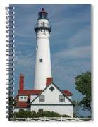 Wind Point Lighthouse Spiral Notebook
