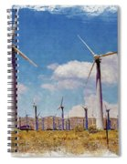 Wind Power Spiral Notebook