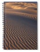 Wind Sculpture Spiral Notebook