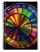 Wind Spinner 6 Spiral Notebook