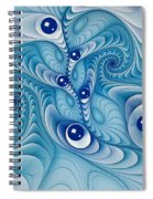 Wind Up Marble Works  Spiral Notebook