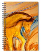 Windance Grass Spiral Notebook