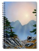 Windblown Pines Spiral Notebook