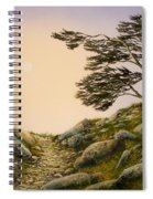 Windblown Warriors Spiral Notebook