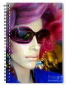 Windblown Will Spiral Notebook