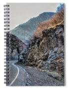 Winding Canyon Road Spiral Notebook