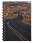 Winding Road Spiral Notebook