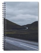 Winding Roads Spiral Notebook