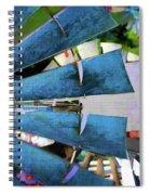 Windmill 3 Spiral Notebook
