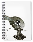 Windmill And Geese Spiral Notebook
