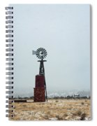 Windmill And Water Tanks Spiral Notebook