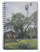 Windmill At Genhaven Spiral Notebook