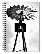 Windmill Dreams Spiral Notebook