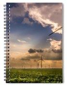 Windmill Farm Spiral Notebook
