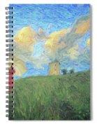 Windmill Girl Spiral Notebook