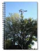 Windmill II Spiral Notebook