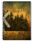 Windmill On My Mind Spiral Notebook