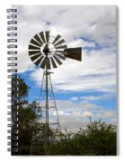 Windmill Spiral Notebook