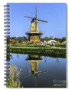 Windmill Reflection Spiral Notebook