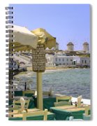 Windmill View Spiral Notebook