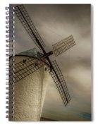 Windmills At Campo De Criptana Spiral Notebook