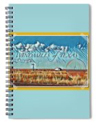 Windmills Of Texas Spiral Notebook
