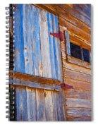 Window 3 Spiral Notebook