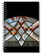 Window Arch Spiral Notebook