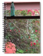 Window Bottle Spiral Notebook