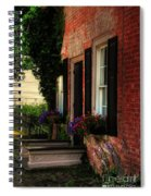 Window Boxes Spiral Notebook