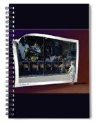 Window Dreaming Spiral Notebook