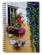 Window Garden In Arles France Spiral Notebook