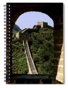 Window Great Wall Spiral Notebook