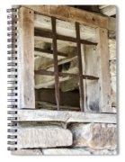 Window In The Amana Farmer's Market Barn Amana Ia Spiral Notebook