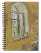 Window In The Studio Saint-remy-de-provence, September - October 1889 Vincent Van Gogh 1853 - 1890 Spiral Notebook