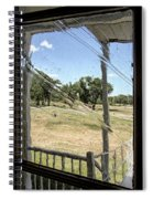 Window In Time Spiral Notebook